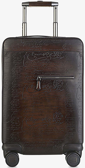 Berluti Formula 1004 Leather Rolling Suitcase: €6,200.