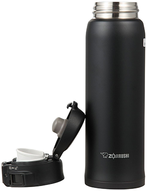 Zojirushi SM-SA48-BA Stainless Steel Mug, Black, 16-Ounce: US$24.90.