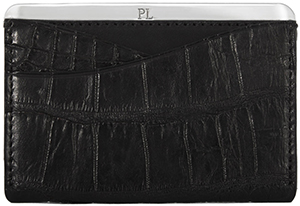 Passavant and Lee No. 25 Genuine Crocodile Cardholder: US$645.
