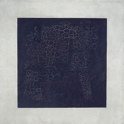 The Black Square (1915) by Kazimir Malevich. Photo: Tretyakov Gallery, Moscow.