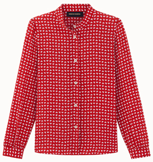 Vanessa Seward women's Bamboo shirt: €249.