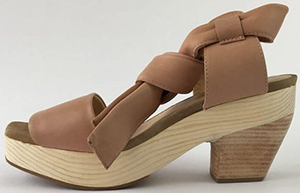 Bonaval Kupuri - Lana Dusty Pink Leather Sandal: €179.