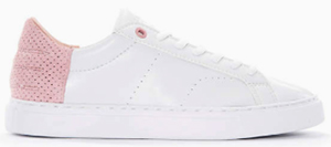 Björn Borg BB T200 women's white/pink sneakers: US$89.95.