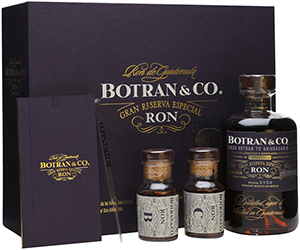 Botran Rum 75th Anniversary Set.