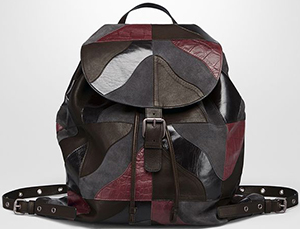 Bottega Veneta Backpack in Multicolor Multimaterial.