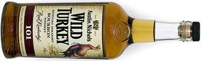 Wild Turkey Kentucky Straight Bourbon Whiskey.