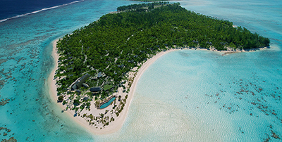 The Brando, Teti'aroa atoll in the Windward group of the Society Islands of French Polynesia.