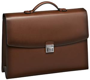 Montblanc MeisterstÜck Selection Sfumato Single Gusset Briefcase: US$2,075.
