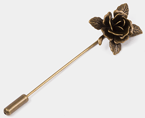 OwnOnly Rose Flower Brooch: US$19.90.