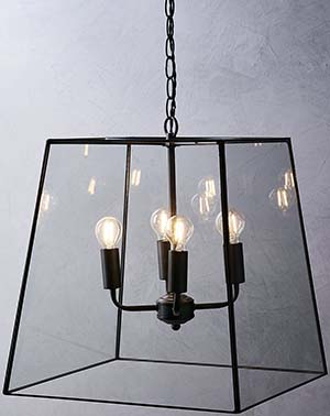 The White Company Brooklyn Extra Large Pendant Light - Bronze: £295.