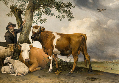 The Bull (1647) by Paulus Potter.