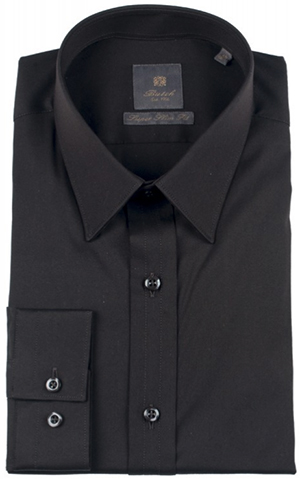 Butch Tailors Men's Black Shirt: €115.