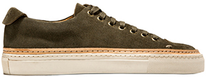 Buttero Army Green Tanina women's low sneakers: US$495.