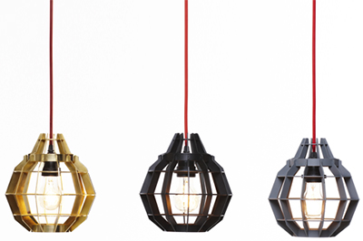 Dare Studio Cage lamps.