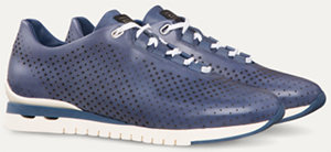 Stefano Ricci Perforated Calfskin Trainers: US$1,900.