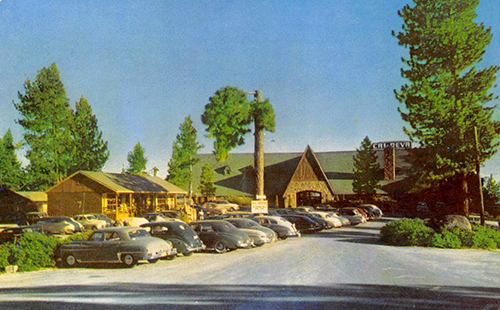 Cal Neva Lodge & Casino in 1962.