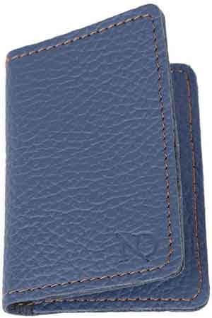N'Damus London Bishopsgate Blue Card Holder: £45.