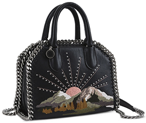 Stella McCartney Black Falabella Box Nashville Mini Bag: US$1,645.
