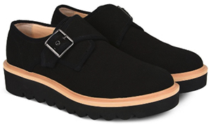 Stella McCartney Black Buckle Men's Shoes: US$770.