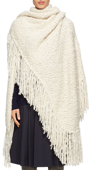 Gabriela Hearst Lauren wrap: US$2,295.