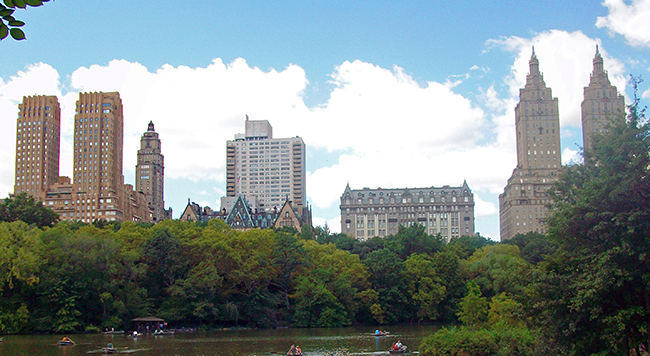 Central Park West Historic District, between 61st & 97th Streets, New York City, NY, U.S.A.