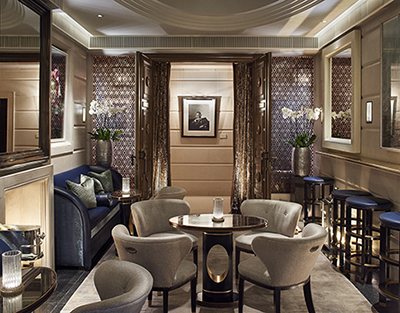 Champagne Room at The Connaught, Carlos Place, Mayfair, London W1K 2AL.