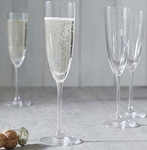 The White Company Belgravia Champagne Flute - Set Of 4: £25.