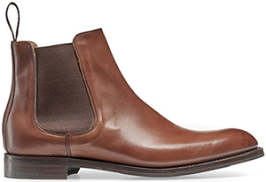 Cheaney Godfrey D Chelsea Boot in Burnished Conker Calf: €499.