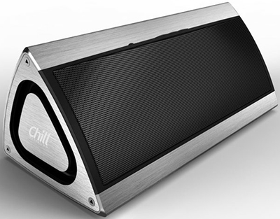 Chill Innovation Chill Fidelity Wireless Bluetooth 4.1 Alu 3D Stereo Speaker.