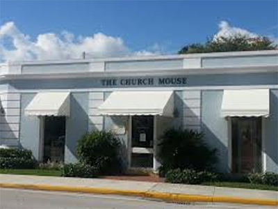 The Church Mouse, 378 South County Road, Palm Beach, FL 33480.