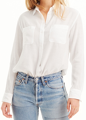 Club Monaco women's Claudia Shirt.