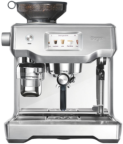 Sage by Heston Blumenthal Oracle Touch coffee machine: £1,999.95.