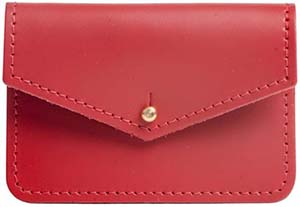 N'Damus London sterling red money pouch: £15.
