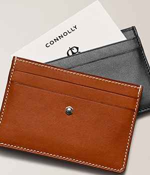 Connelly men's Leather Card Holders.