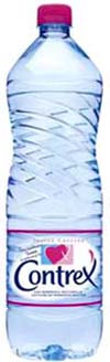Contrex Natural Mineral Water.