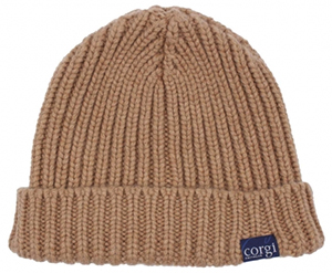 Corgi Cashmere Ribbed men's Beanie Hat: €120.