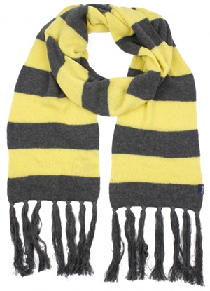 Corgi Cashmere Cotton Striped Scarf: €163.
