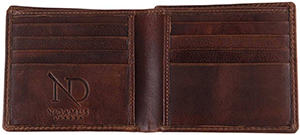 N'Damus London Arthur Brown Bifold Wallet: £50.