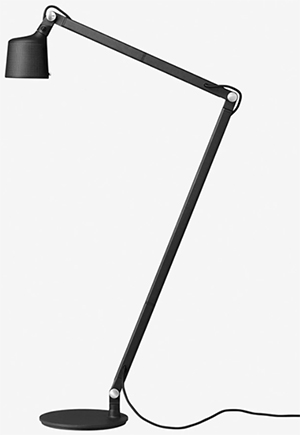 Vipp floor reading lamp.