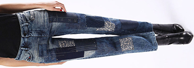 Diesel Regular Straight Reen 0855T women's jeans: US$986.