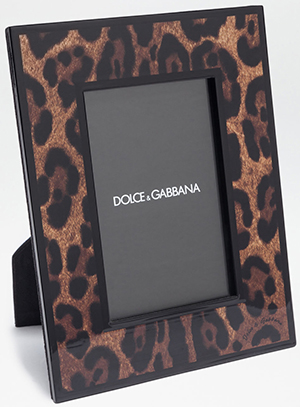 Dolce & Gabbana Hand-Painted Wooden Frame: €995.