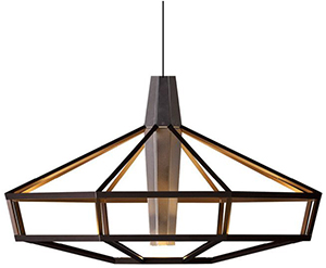 Driade lampsi chandelier by park associati.