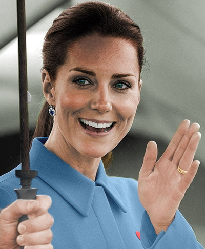'If you love it, buy two,' Duchess of Cambridge.