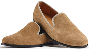 Duke + Dexter Dorset Suede men's loafer: £225.