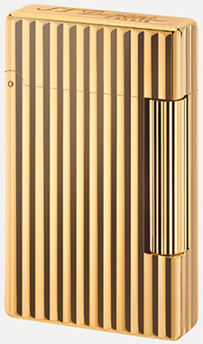S.T. Dupont Golden Bronze Finish Lighter.