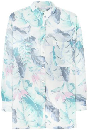 Christina Economou women's Wallpaper Shirt: €375.