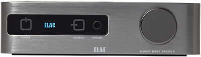 Elac Element Series EA101EQ-G Integrated Amplifier.