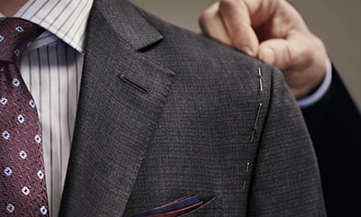 Made to measure by Ermenegildo Zegna.