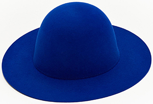Études Sesam Hat Blue women's hat: €280.