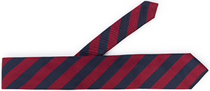 Façonnable striped tie: €95.